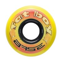 Bild von Base Indoor 74A Inlinehockey Goalie Rollen - Fat Boy - 8er VPE