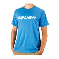 Picture of Bauer Core Short Sleeve Tee Shirt Blue Youth