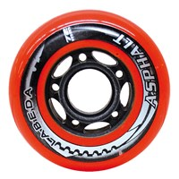 "Bild von Labeda Inline Wheel ""Gripper Asphalt"" - 4er Set"