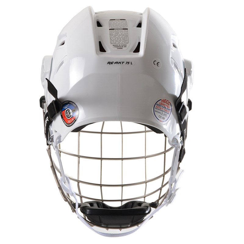 Picture of Bauer Re-AKT 75 Helmet Combo - white