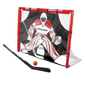 """Изображение Ворота хоккейные Bauer Street Hockey Goal Set 48"""" incl. Shooter, Stick & Ball"""