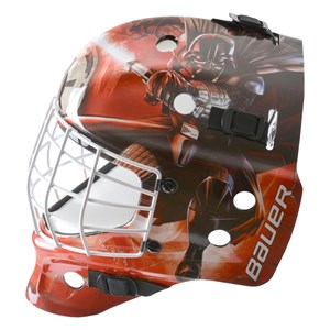 Picture of Bauer NME Street Goal Mask - Darth Vader - Youth