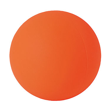 Изображение Мяч для стрит-хоккея Base оранжевый средн. жесткости