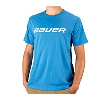 Picture of Bauer Core Short Sleeve Tee Shirt Blue Senior