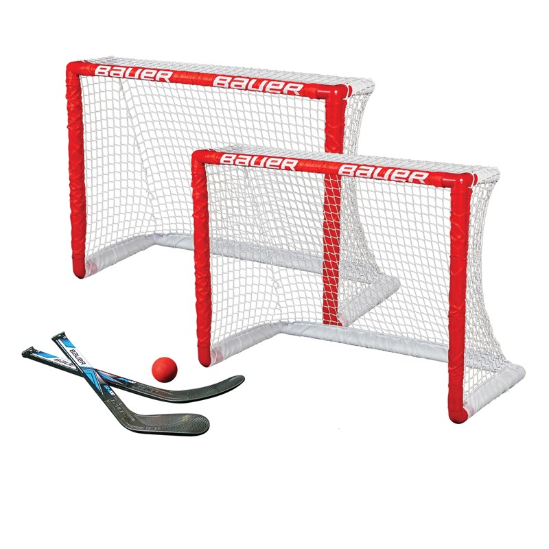 "Bild von Bauer Knee Hockey Goal 2er Set 30.5""  2 Tore, 2 Ministicks & 1 Foam Ball"