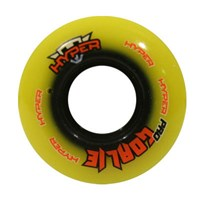Picture of Hyper Indoor 76A Inline Hockey Goalie Wheel - 8 Pack