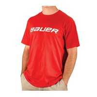 Picture of Bauer Core Short Sleeve Tee Shirt Red Senior