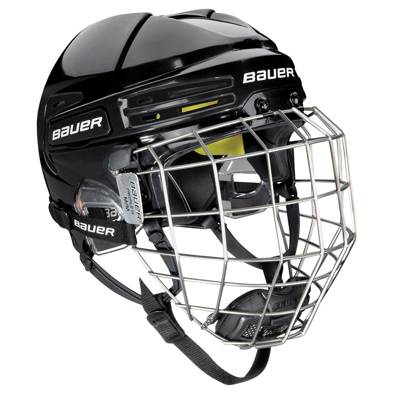 Picture of Bauer Re-AKT 75 Helmet Combo - black