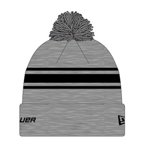 Picture of Bauer New Era Striped Pom Pom - grey/black