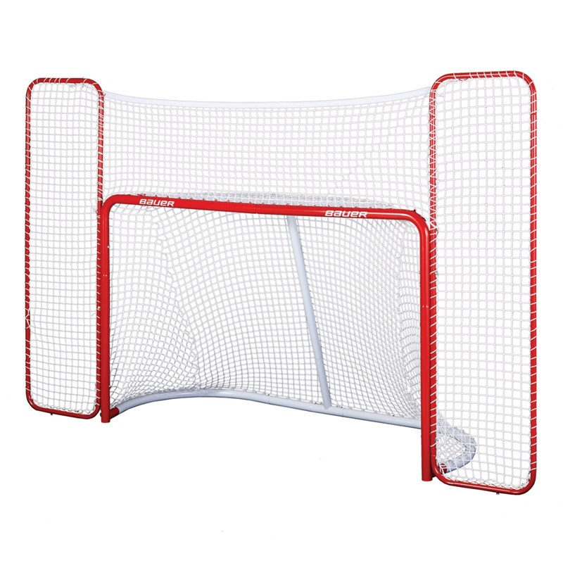 Изображение Ворота хоккейные Bauer Hockey Goal with Backstop