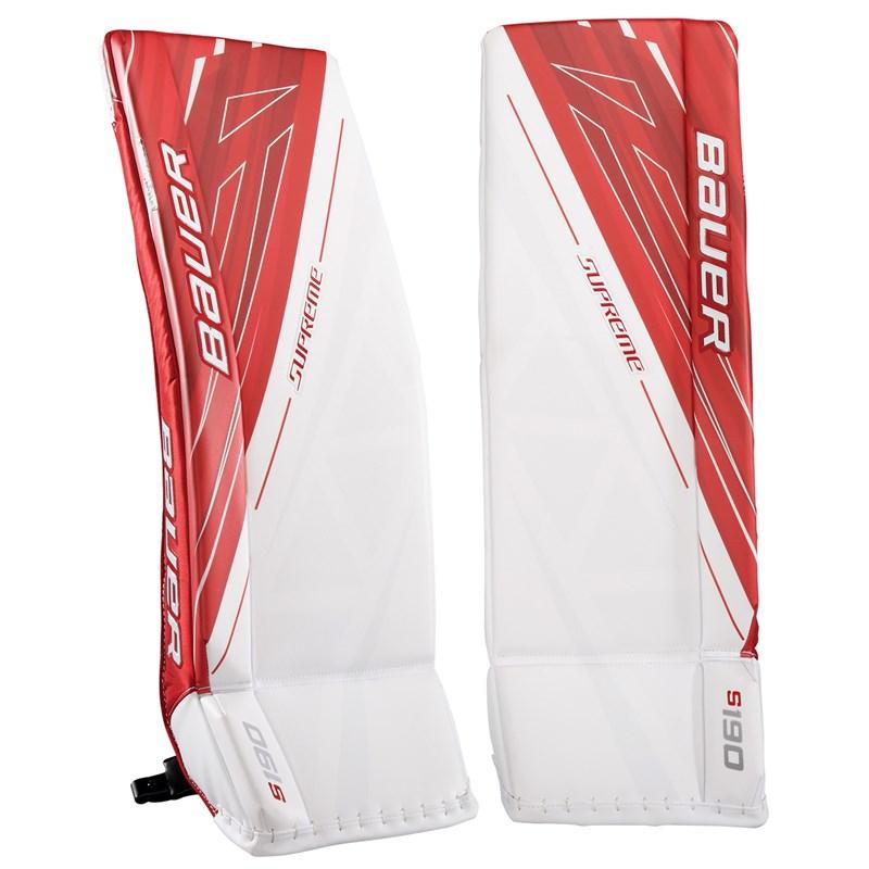 Bauer Supreme S190 Goalie Leg Pads Intermediate - Hockey eu