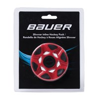 Изображение Bauer RH Slivvver Puck red - each