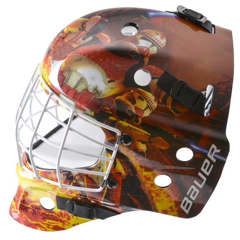 Bild von Bauer NME Street Goal Mask - Troopers - Youth