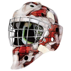 Picture of Bauer NME 4 Goalie Mask Wall Red Youth