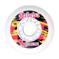 "Bild von Labeda Inline Wheel ""Gripper Extreme"" hard - 4er Pack"