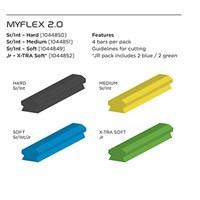 Изображение Брусок для полировки Bauer My Flex 2.0 Bars Soft Sr (взрослый)