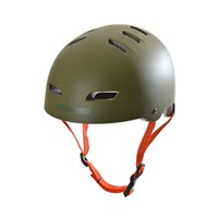 Picture of Kryptonics Step up Helmet - Olive Green/Grey