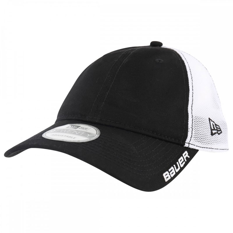 Picture of Bauer New Era 9Twenty Adjustable Meshback Black Cap Senior