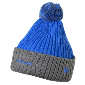 Bild von Bauer New Era Edge Bommel Strick Royal Blue Senior