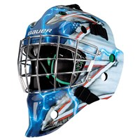 Picture of Bauer NME 4 Goalie Mask King NYR Senior