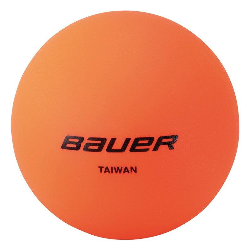 Picture of Bauer Hockey Ball orange - warm - 4er Pack